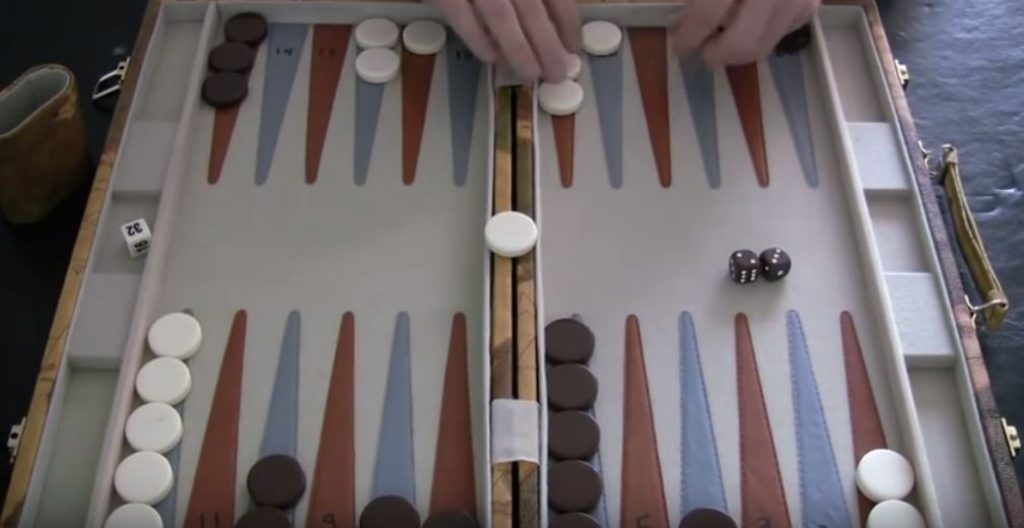 Hitting and Re-Entering in backgammon