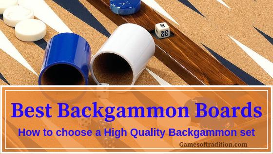 high quality backgammon
